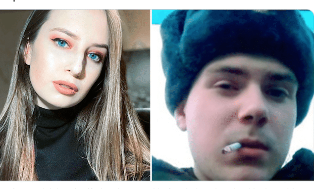 Elizaveta Khlyupina and Sevastyan Putintsev
