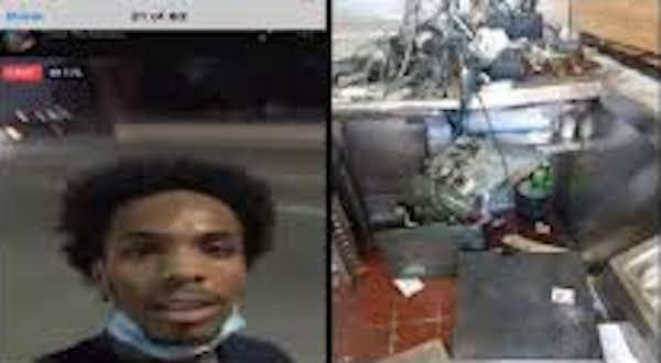Terion Alexander Jr. San Bernardino looting