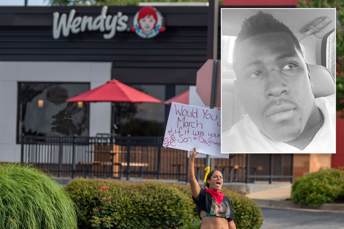 Rayshard Brooks Wendy's shooting death