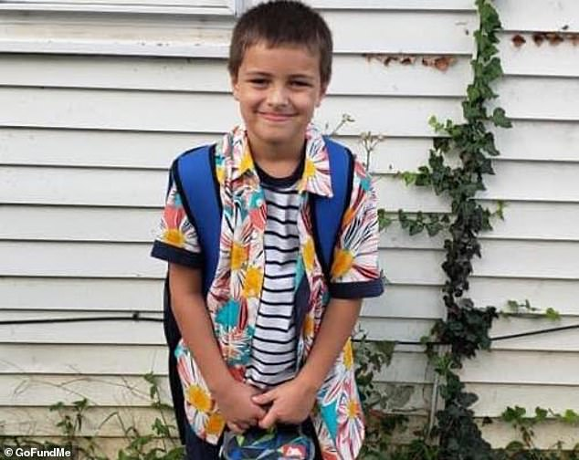 Brayden Leroy Wright 9 year old brother