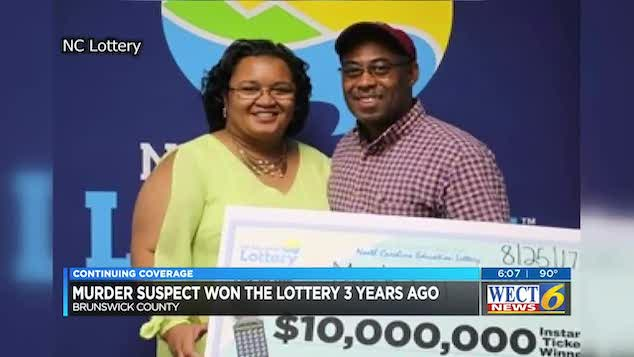 2017 North Carolina $10m lottery winner charged w/ murder