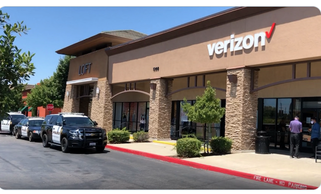 California woman at Rosedale Verizon store urinates on floor