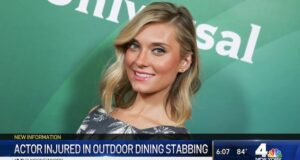 Spencer Grammer slashed