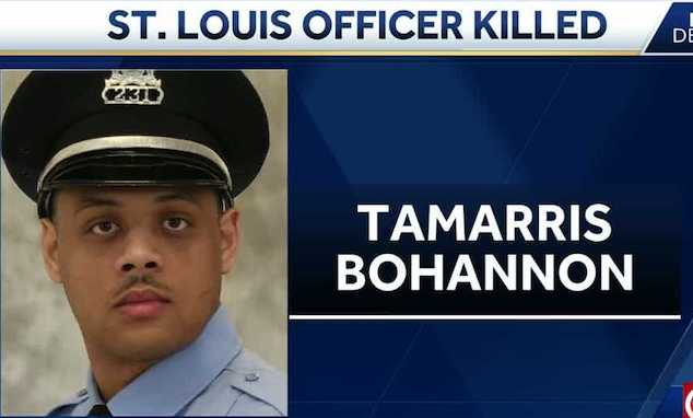 Tamarris Bohannon St. Louis Police Officer