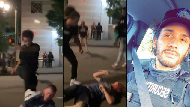 Marquise Love Portland protester arrested