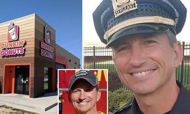 Sgt. Paul Parizek Dunkin Donuts