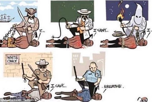 Christoper Moreno Westlakes teacher cartoon