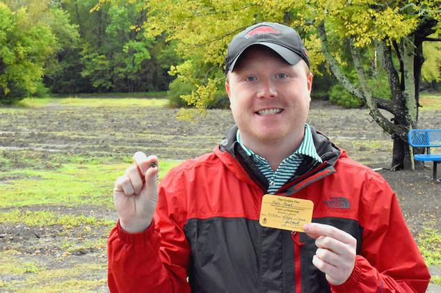 Kevin Kinard diamond Arkansas State park find
