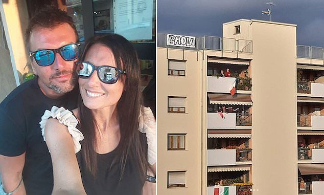 Michele D'Alpaos and Paola Agnelli,