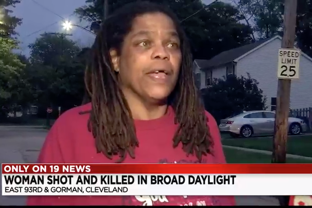 Barbara Rogers Cleveland woman shot dead by neighbor over dog dispute