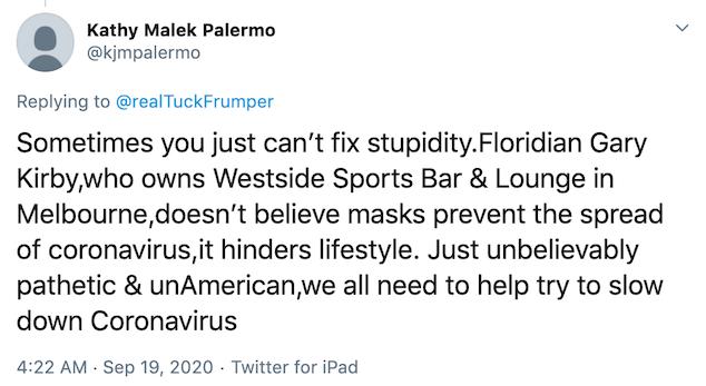 Westside Sports Bar & Lounge mask policy