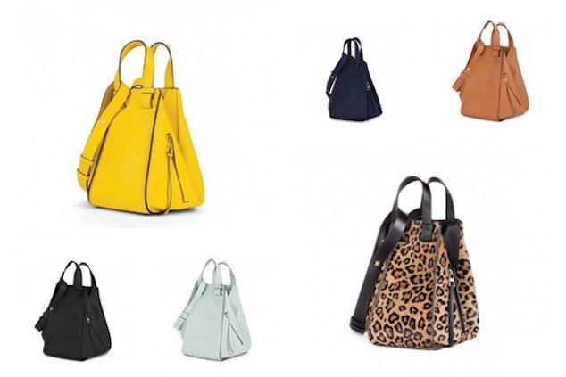 The Loewe Hammock Bag