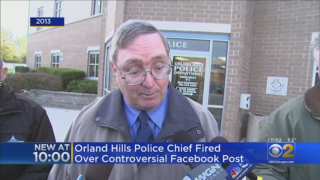 Thomas Scully Orland Hills Police Chief
