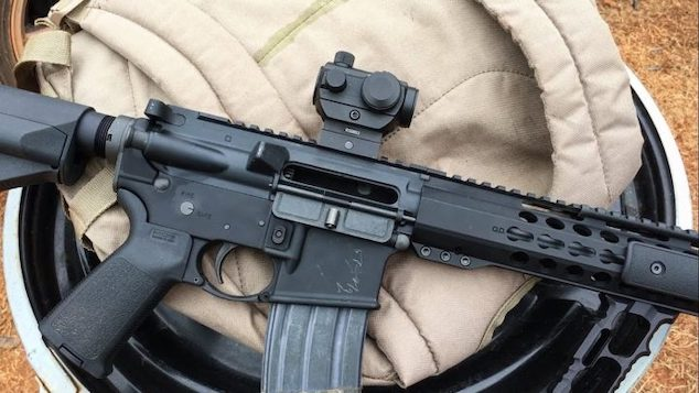 How to zero a red dot or sight your target
