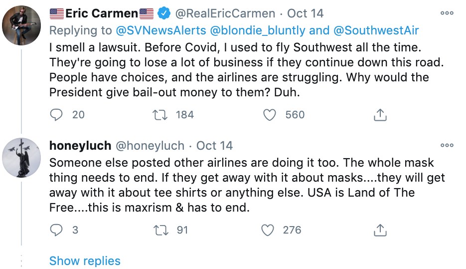 Black Trump supporter kicked off Southwest flight