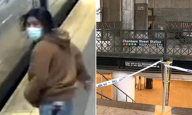 Chambers J/Z Street Station subway stabbing