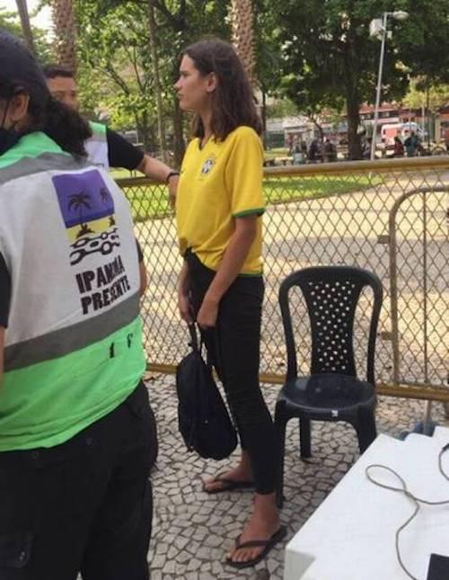 Eloisa Fontes Brazilian model