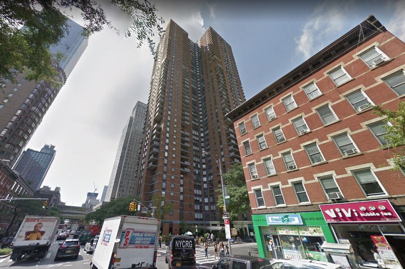 13 year old boy falls from Manhattan Plaza