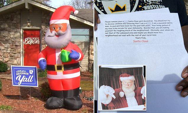 Chris Kennedy black Santa