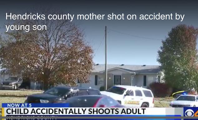 Hendricks County mother shot