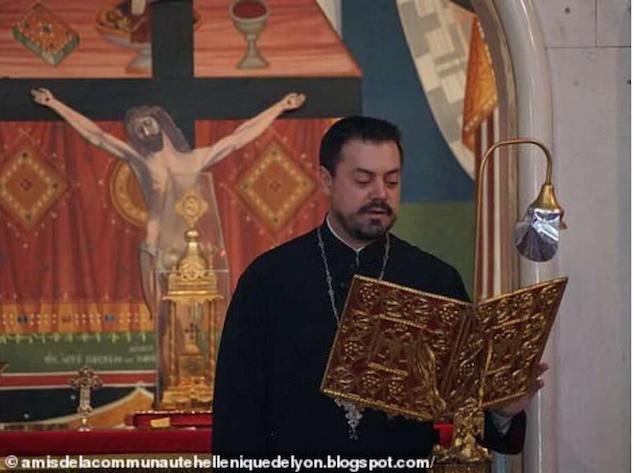Nikolaos Kakavelakis Lyon priest