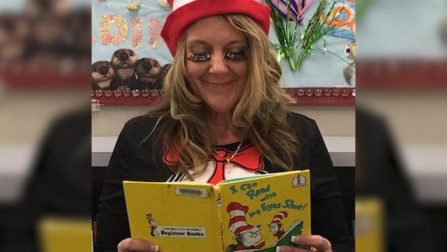 Suzette Penton Polk City librarian
