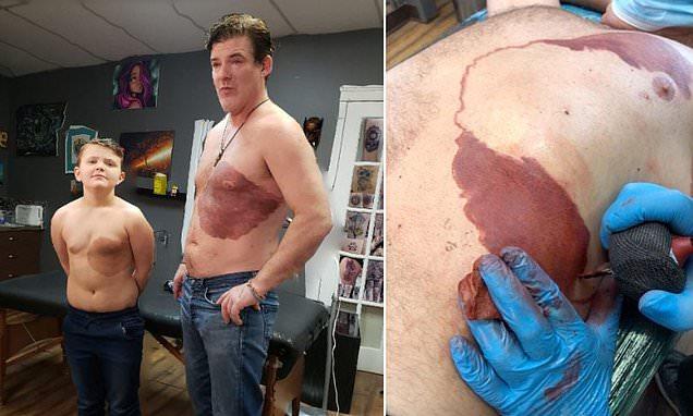 Derek Prue Sr tattoo
