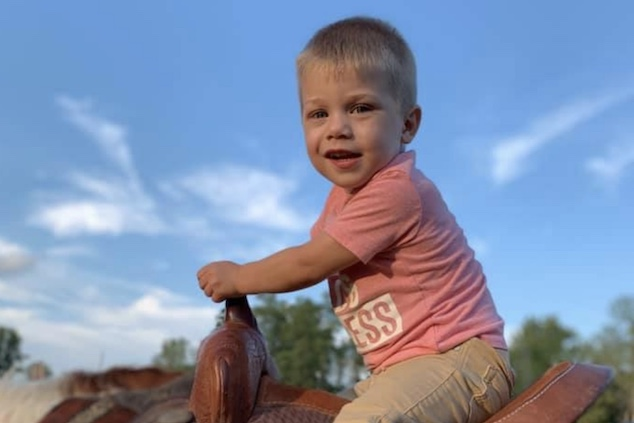 Leighton Owings Indiana toddler