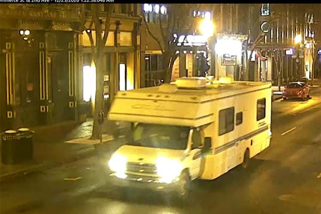 Nashville RV suicidal bombing suspect