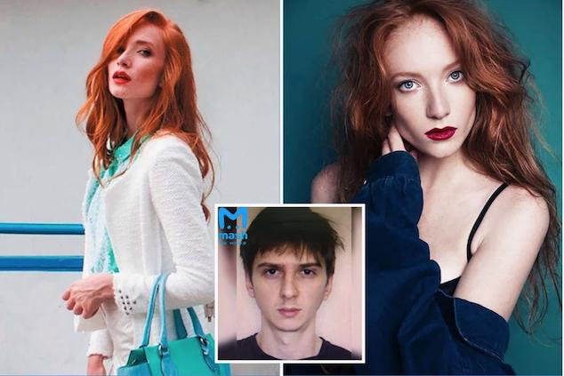 Lilia Sudakova Russian model