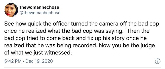 Boston police body cam video