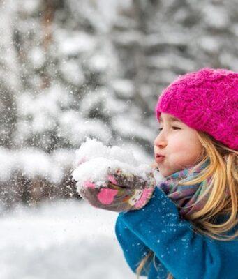 Kids winter vacation dressing
