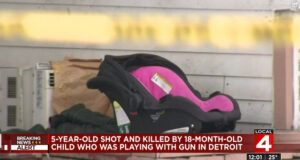 Detroit toddler accidentally shoots 5 year old cousin dead
