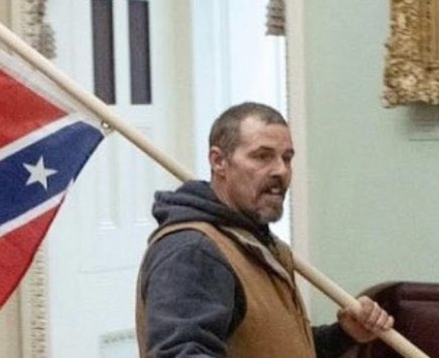 Kevin Seefried Confederate flag guy