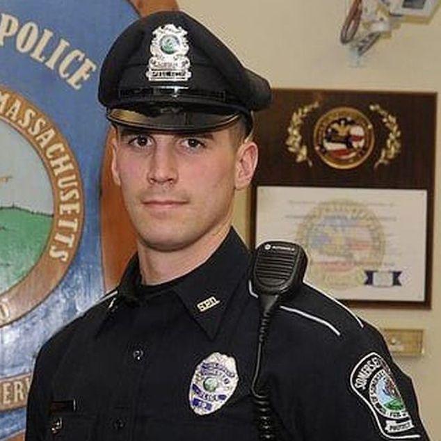 Matt Lima Somerset Police Officer