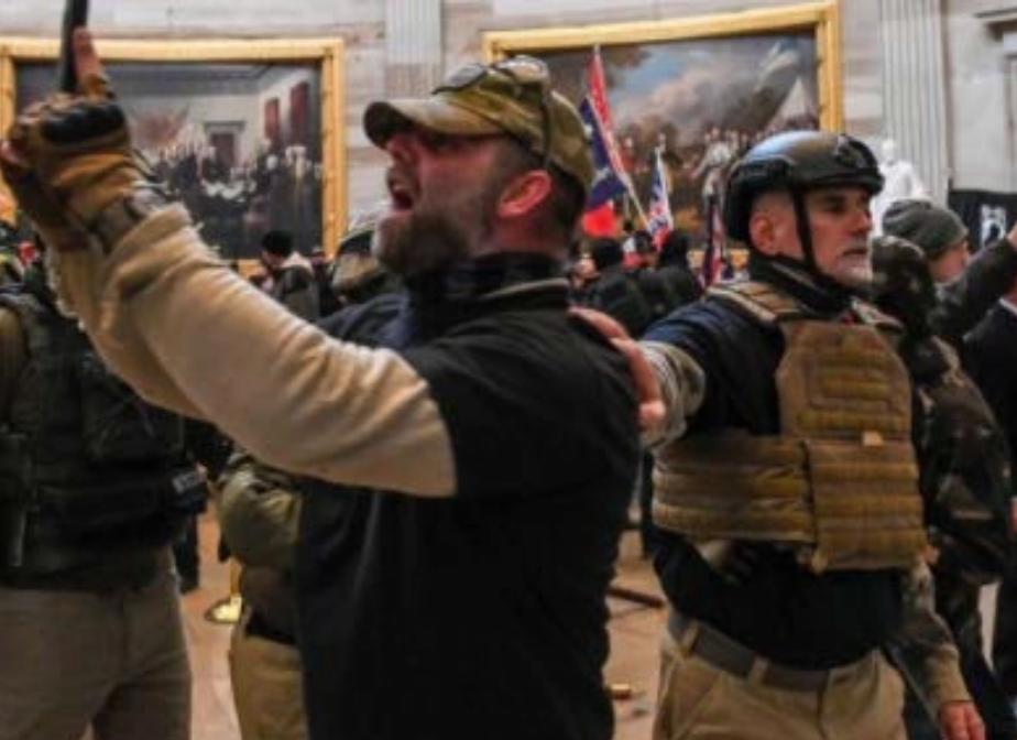 MAGA Trump supporters storm Capitol