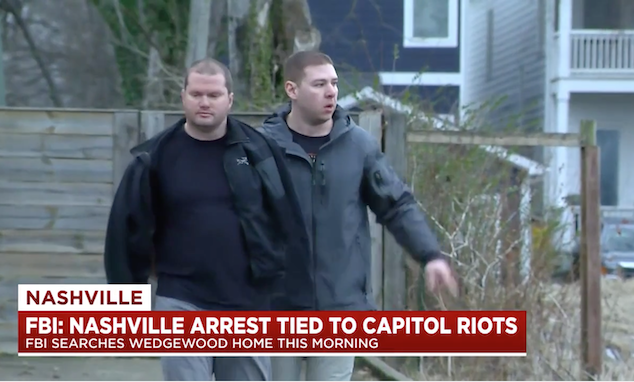 Blake Austin Reed Nashville Capitol Rioter Arrested After Facebook Selfie