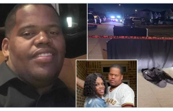 Brandon Curtis Texas father of five shot dead confronting daughter's cyberbully