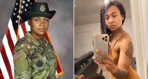 Sgt Jessica Mitchell US Army drill sergeant