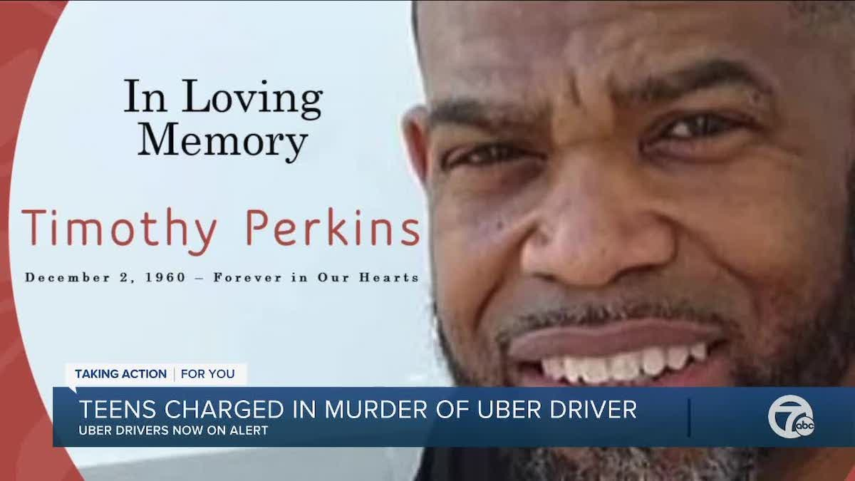 Timothy Perkins Detroit Uber driver