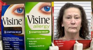 Tina Glasco Arkansas eye drops poison husband