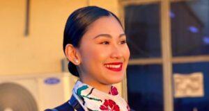Christine Angelica Dacera Philippine Airlines flight attendant
