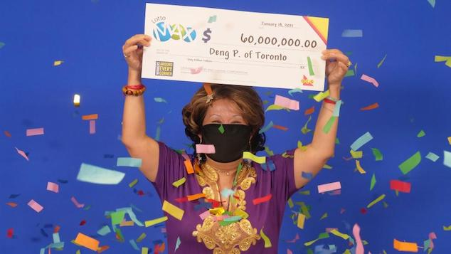 Deng Pravatoudom $60 Canada lottery winner