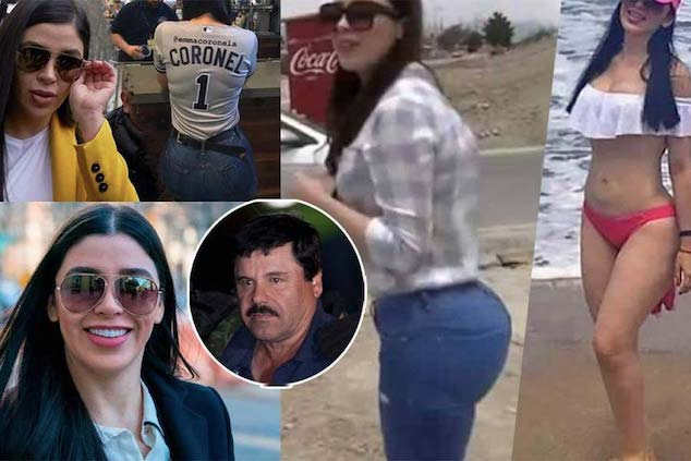 El Chapo wife arrested charged with drug trafficking