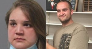 Brittany Carlson and Nicholas Tracy,