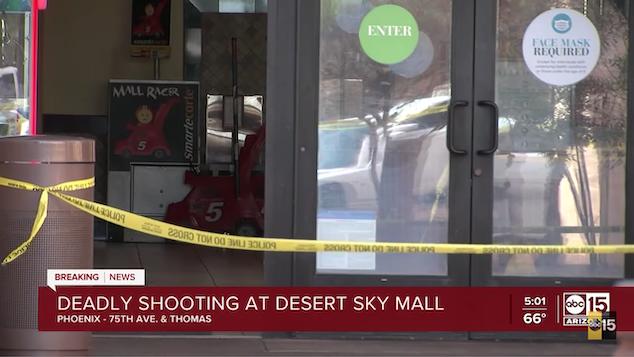 Desert Sky Mall shooting Phoenix Arizona