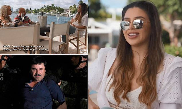 Emma Coronel Aispuro charged drug trafficking
