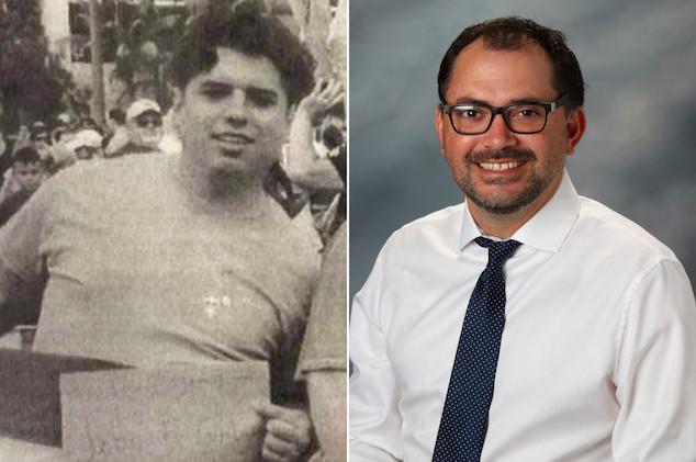 Jesse Alvarez San Diego man & Mario Fierro Cathedral Catholic teacher