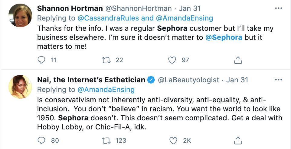 Amanda Ensing Sephora