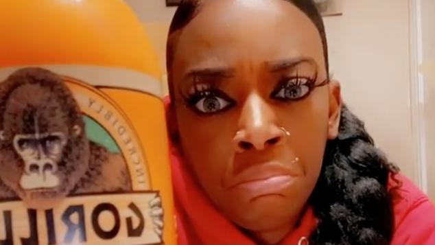 Tessica Brown Gorilla Glue Girl